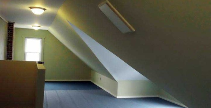 Attic Space Transformation...