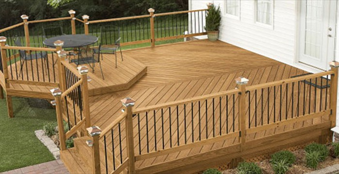Decks that enhance outdoor living...